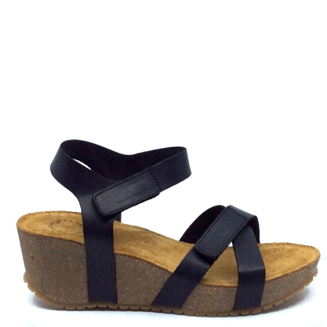Dame sandal (20271) SORT Holst Sko